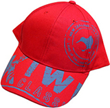 Cap Kiwi Logo Red