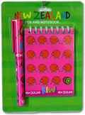 Notepad & Pen Set Pink