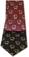 Souvenir Tie - Multiple Sheep