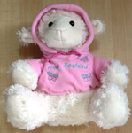 Soft Toy Sheep Pink Hoody