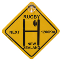 Rugby Street Sign