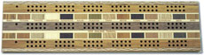 Cribbage Board 3 Person