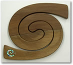 Double Tablemat Paua Koru