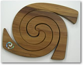 Triple Tablemat Paua Koru